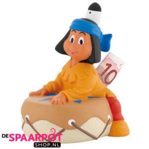 Spaarpot Yakari op trommel (17cm)