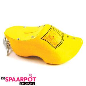 Klomp spaarpot (geel)