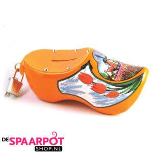 Klomp spaarpot (oranje)