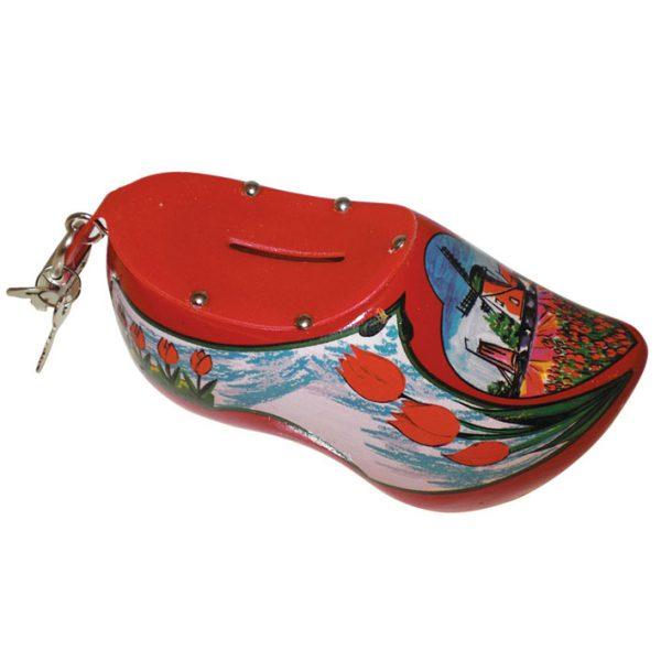 Klomp spaarpot (rood)