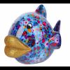 Pomme Pidou Vis Kelly - Blauw met kevertjes
