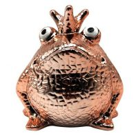 Spaarpot King Frog Glamourous Freddy Messing