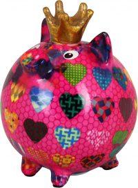 Pomme Pidou Varken Betty - Roze met hartjes