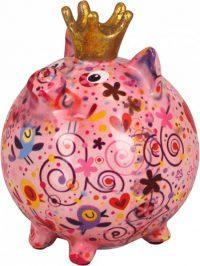 Pomme Pidou Varken Betty - Roze met bloemen
