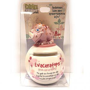 Evaceratops Dino Vriend spaarpot