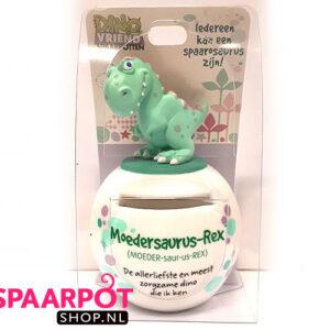 Moedersaurus-Rex Dino Vriend spaarpot