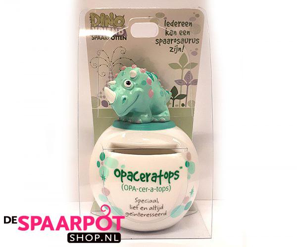 Opaceratops Dino Vriend spaarpot