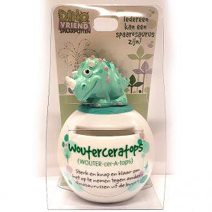 Wouterceratops Dino Vriend spaarpot