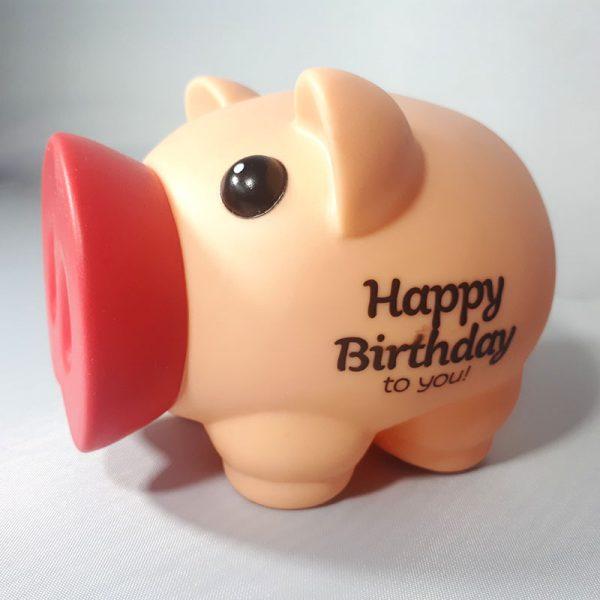 Spaarvarken - Happy Birthday to you!