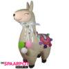 Lama spaarpot (lichtbruin) 21cm