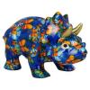 Pomme Pidou Dinosaurus Winston Spaarpot - Blauw met vlinders