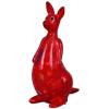 Pomme Pidou Kangaroo Lucy Spaarpot – Rood met tulpen