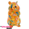 Pomme Pidou Hamster Finn Spaarpot - Oranje met Paraplu's