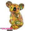 Pomme Pidou Koala Claire Spaarpot - Geel met vlinders