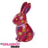 Pomme Pidou Spaarpot Konijn Nina - Roze met sterren