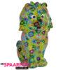 Pomme Pidou Leeuw Leo Spaarpot – Groen met bloemen