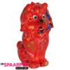 Pomme Pidou Leeuw Leo Spaarpot – Rood met bloemen