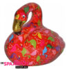 Pomme Pidou Flamingo Lilly Spaarpot - Rood met flamingo's