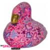 Pomme Pidou Flamingo Lilly Spaarpot - Roze met hartjes
