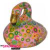 Pomme Pidou Flamingo Lilly Spaarpot - Roze met rondjes