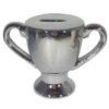 Troffee beker spaarpot (zilver)