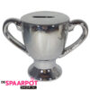Trofee beker spaarpot (zilver)