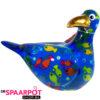 Pomme Pidou Zeemeeuw Simon Spaarpot - Blauw met vissen