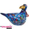 Pomme Pidou Zeemeeuw Simon Spaarpot - Blauw met lieveheersbeestjes