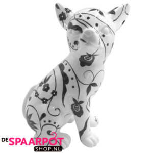 Pomme Pidou Chihuahua Nanou - (Wit met ornament) Studio Design