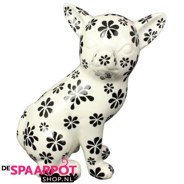 Pomme Pidou Chihuahua Nanou - (Wit met bloemen) Studio Design
